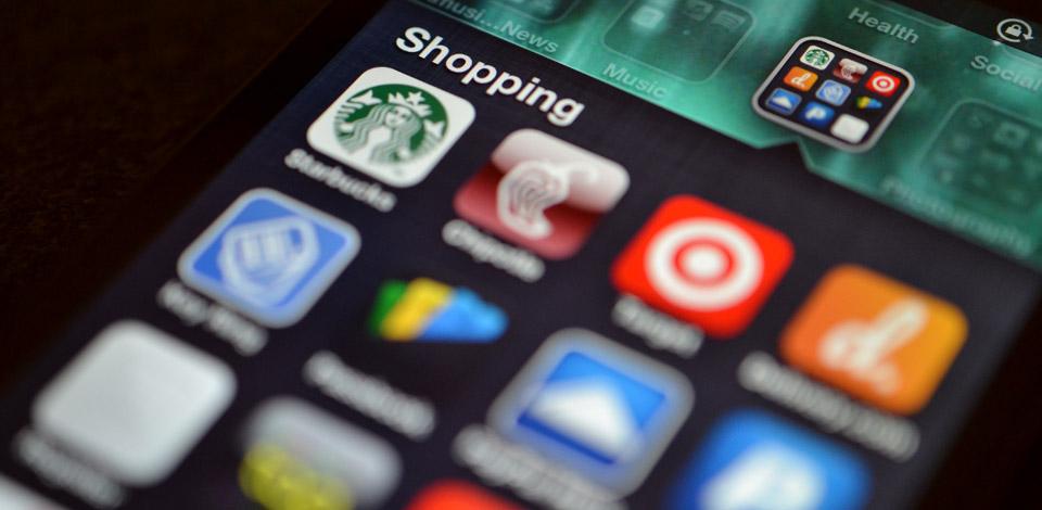 mobile commerce shopping app